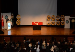 Osman Manavoğlu Bursa Uludağ Üniversitesinde Tören Uğurlandı